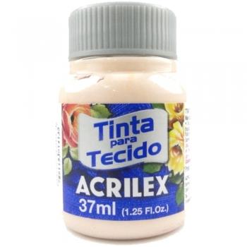 TINTA TECIDO FOSCA ACRILEX 37 ML 812 SALMAO BEBE
