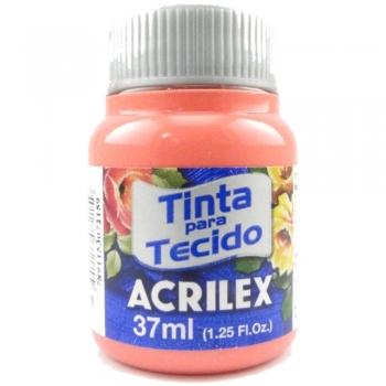 TINTA TECIDO FOSCA ACRILEX 37 ML 829 FLAMINGO