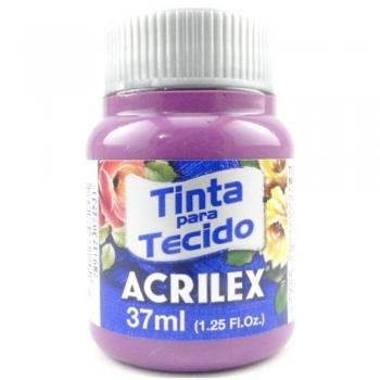 TINTA TECIDO FOSCA ACRILEX 37 ML 998 AMORA