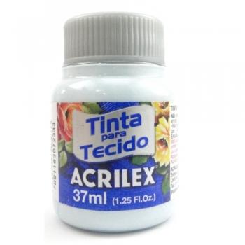 TINTA TECIDO FOSCA ACRILEX 37 ML 992 AZUL SOFT