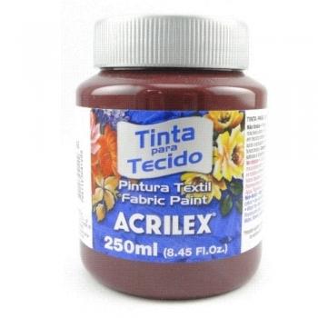 TINTA TECIDO FOSCA ACRILEX 250 ML 565 VINHO