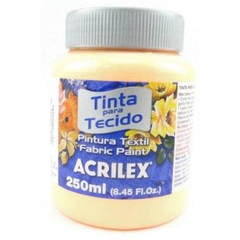 TINTA TECIDO FOSCA ACRILEX 250 ML 518 SALMAO