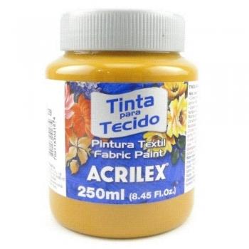 TINTA TECIDO FOSCA ACRILEX 250 ML 539 SIENA NAT.