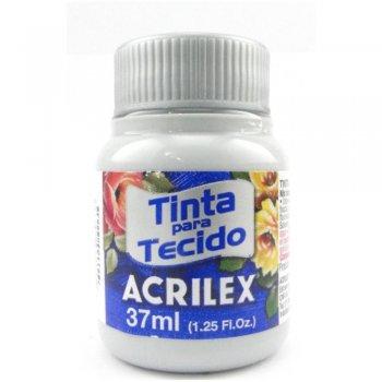 TINTA TECIDO FOSCA ACRILEX 37 ML 627 CINZA CLARO