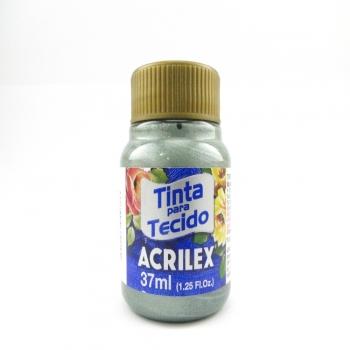 TINTA TECIDO METALICA ACRILEX 37 ML 848 CITRICO