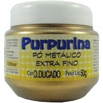 PURPURINA OURO DUCADO 50 GR GLITER