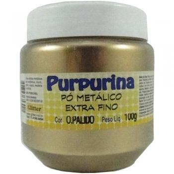 PURPURINA OURO PALIDO 100 G. GLITER