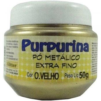 PURPURINA OURO VELHO  50 GR GLITER