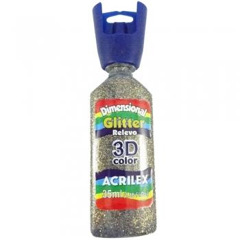 TINTA DIMENS.RELEVO 3D 35 M GLITTER 218 CAPUCCINO