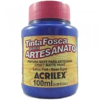 TINTA ACRILEX FOSCA P/ARTES.100 ML 501 AZ TURQUEZA