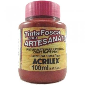TINTA ACRILEX FOSCA P/ARTES.100 ML 508 VM SCARLATE