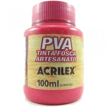 TINTA ACRILEX FOSCA P/ARTES.100 ML 542 ROSA ESCURO
