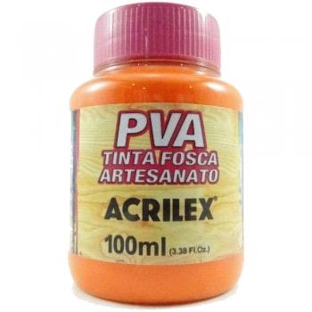 TINTA ACRILEX FOSCA P/ARTES.100 ML 517 LARANJA