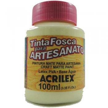 TINTA ACRILEX FOSCA P/ARTES.100 ML 529 MARFIM