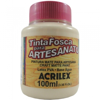 TINTA ACRILEX FOSCA P/ARTES.100 ML 538 AM PELE