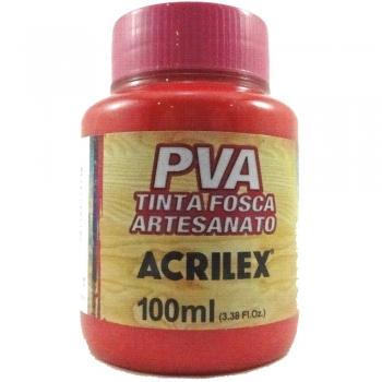 TINTA ACRILEX FOSCA P/ARTES.100 ML 507 VM FOGO
