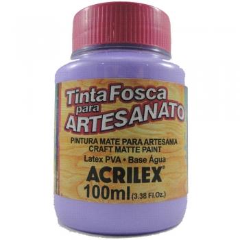 TINTA ACRILEX FOSCA P/ARTES.100 ML 528 LILAS