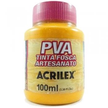 TINTA ACRILEX FOSCA P/ARTES.100 ML 536 AM CADMIO