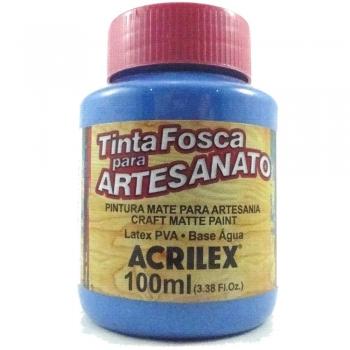 TINTA ACRILEX FOSCA P/ARTES.100 ML 568 AZ CERULEO