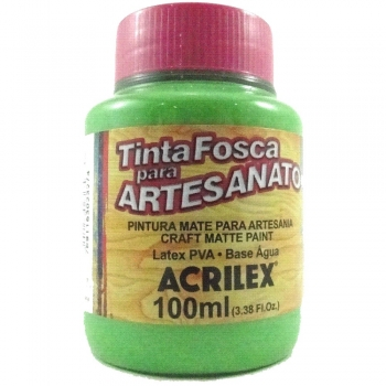 TINTA ACRILEX FOSCA P/ARTES.100 ML 510 VD FOLHA