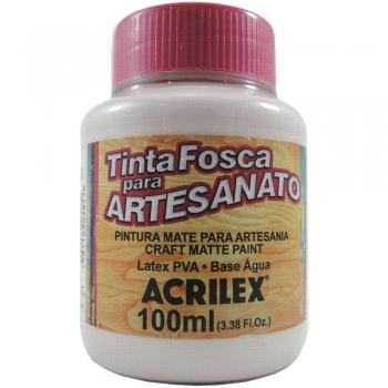 TINTA ACRILEX FOSCA P/ARTES.100 ML 813 ROSA BEBE