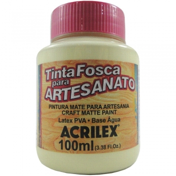 TINTA ACRILEX FOSCA P/ARTES.100 ML 808 AM BEBE