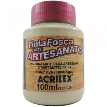 TINTA ACRILEX FOSCA P/ARTES.100 ML 817 AREIA