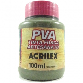 TINTA ACRILEX FOSCA P/ARTES.100 ML 545 VERDE OLIVA
