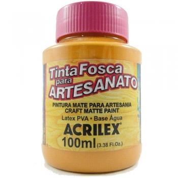 TINTA ACRILEX FOSCA P/ARTES.100 ML 830 TERRACOTA