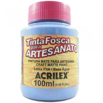 TINTA ACRILEX FOSCA P/ARTES.100 ML 584 AZ INVERNO