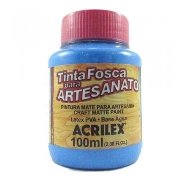 TINTA ACRILEX FOSCA P/ARTES.100 ML 503 AZ CELESTE