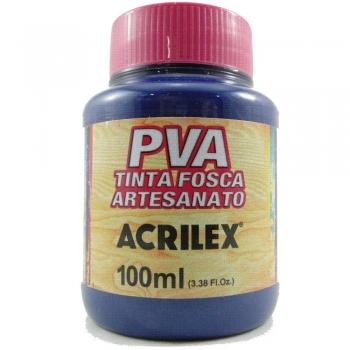 TINTA ACRILEX FOSCA P/ARTES.100 ML 824 AZ SECO