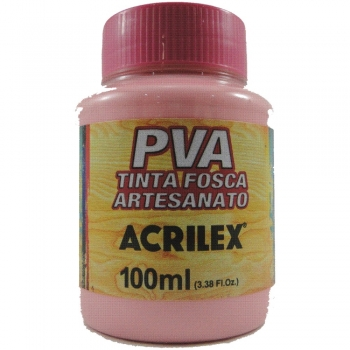 TINTA ACRILEX FOSCA P/ARTES.100 ML 537 ROSA