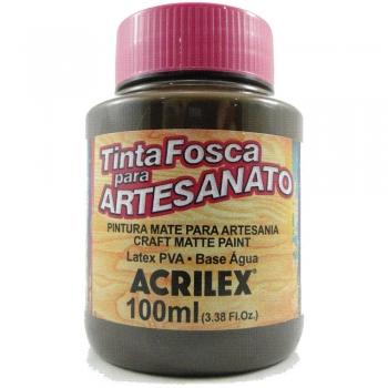 TINTA ACRILEX FOSCA P/ARTES.100ML 896 RUSTICO