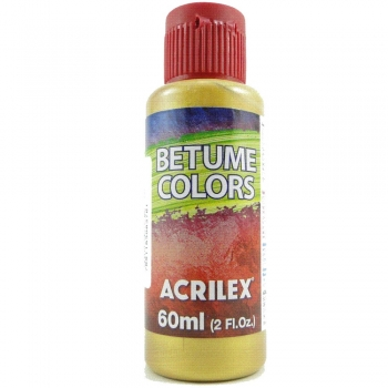 BETUME COLOR ACRILEX 60 ML 598 DOURADO SOLAR