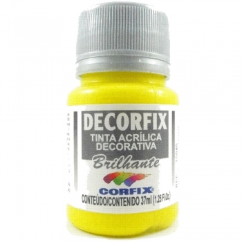 TINTA DECORFIX ACRIL. BRILH 37 ML 308 AM OURO