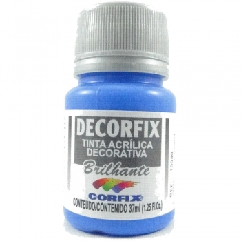 TINTA DECORFIX ACRIL. BRILH. 37 ML 323 AZ CELESTE