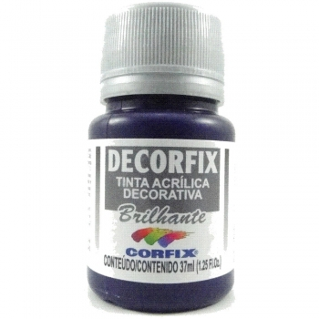 TINTA DECORFIX ACRIL. BRILH. 37 ML 329 VIOLETA