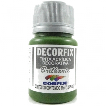 TINTA DECORFIX ACRIL. BRILH. 37 ML 333 VD MUSGO