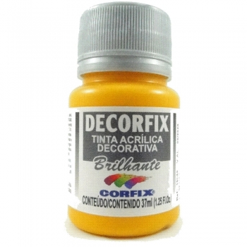 TINTA DECORFIX ACRIL. BRILH.37 ML 307 AM CADMIO