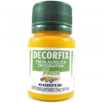 TINTA DECORFIX FOSCA 37 ML 307 AMARELO CADMIO