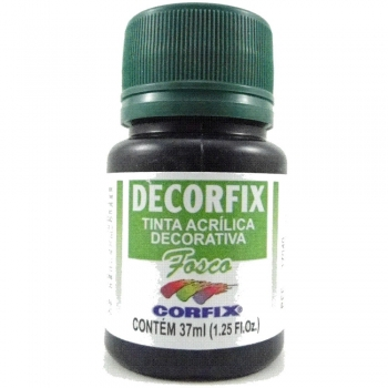 TINTA DECORFIX FOSCA 37 ML 321 PRETO