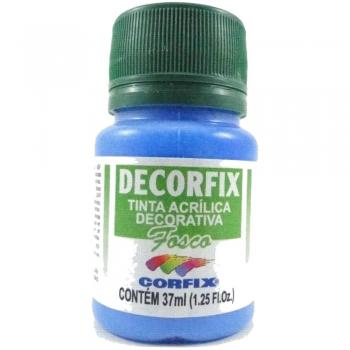 TINTA DECORFIX FOSCA 37 ML 323 AZUL CELESTE