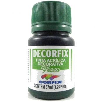 TINTA DECORFIX FOSCA 37 ML 373 VERDE ESMERALDA