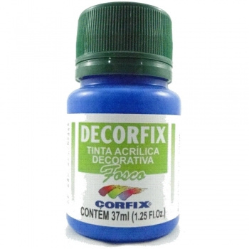 TINTA DECORFIX FOSCA 37 ML 385 AZUL CERULEO
