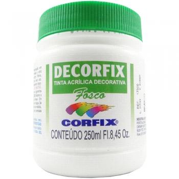 TINTA DECORFIX FOSCA 250 ML 301 BRANCO