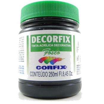 TINTA DECORFIX FOSCA 250 ML 321 PRETO