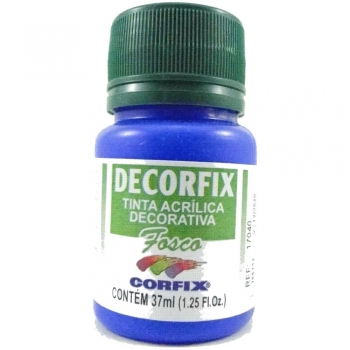 TINTA DECORFIX FOSCA 250 ML 325 AZ ULTRAMAR