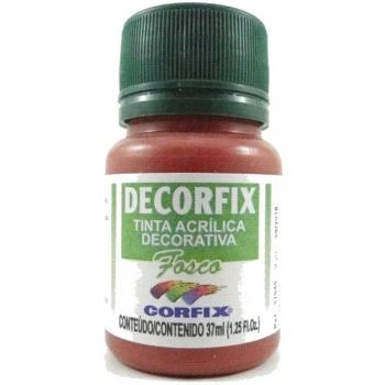 TINTA DECORFIX FOSCA 37 ML 470 TELHA
