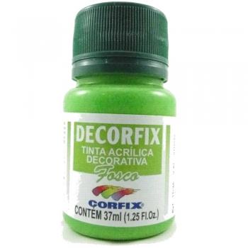 TINTA DECORFIX FOSCA 37 ML 334 VERDE FOLHA